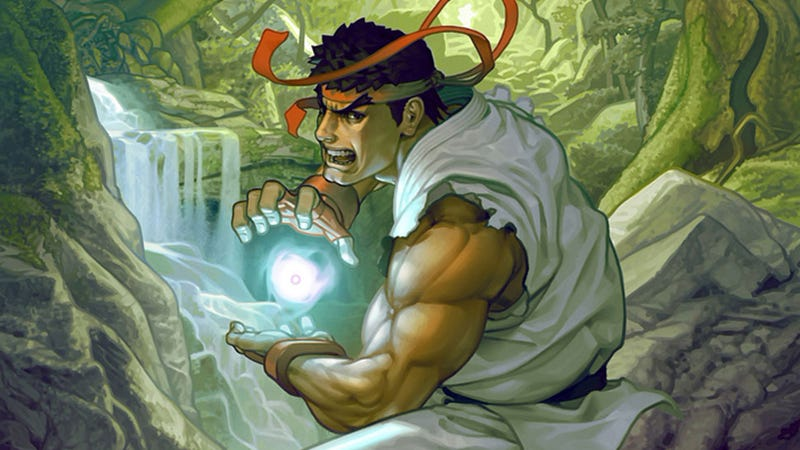 Illustration for article titled Ryu, Enemy Of Waterfalls