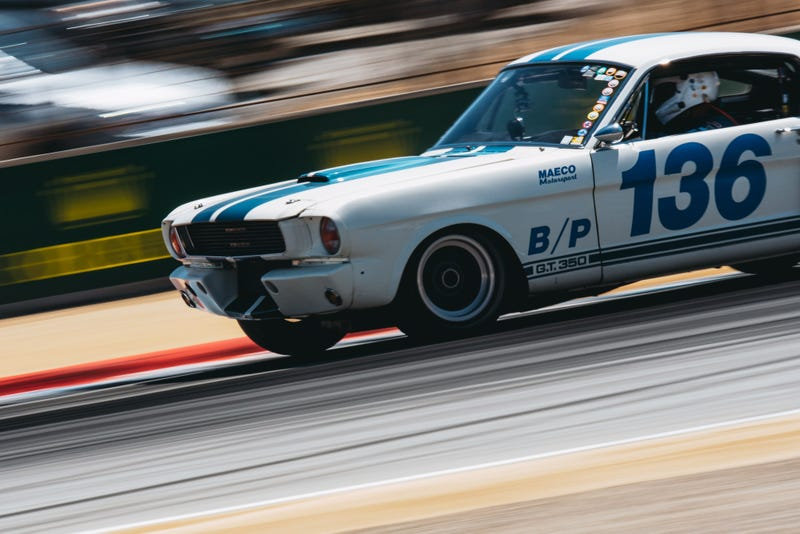 Illustration for article titled Vintage Racing Is The Best Thing About Monterey Car Week