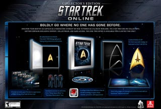 Illustration for article titled What's In The Star Trek Online Collector's Edition?