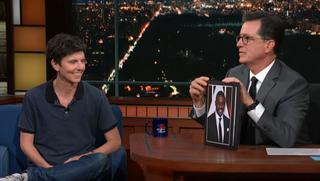 Tig Notaro, Stephen Colbert