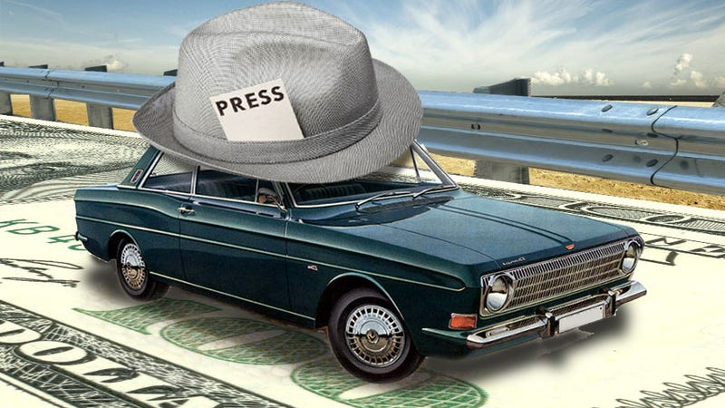 Illustration for article titled The Truth About Press Cars