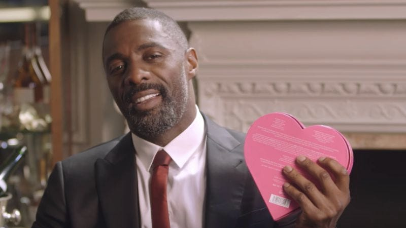 Illustration for article titled Idris Elba to take a mere mortal out on a Valentine's Day date