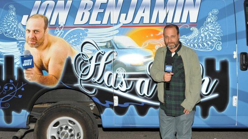 "Illustration for article titled Jon Benjamin Has a Van: ""Smoking"""