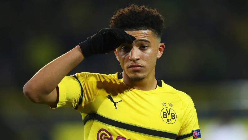 Illustration for article titled Bayern Munich Had No Answer For Jadon Sancho