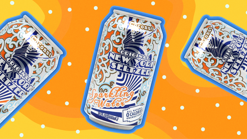 Illustration for article titled Original New York Seltzer kicks the coconut ass-can of LaCroix