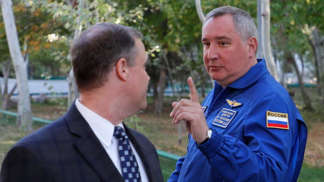 Hell Is in Space and It Belongs to Russia, Roscosmos Chief Says