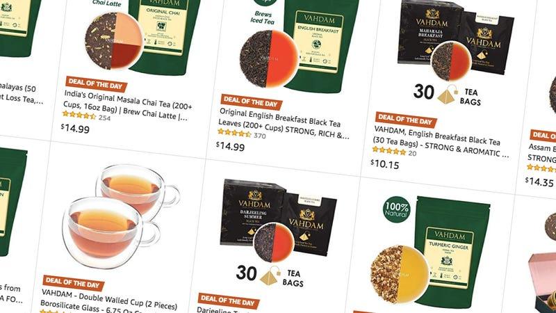 Hasta un 50% de descuento en los tés más vendidos y accesorios | AmazonImagen: Amazon