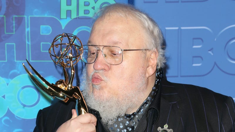 George R. R. Martin attends HBO's Official 2016 Emmy After Party.