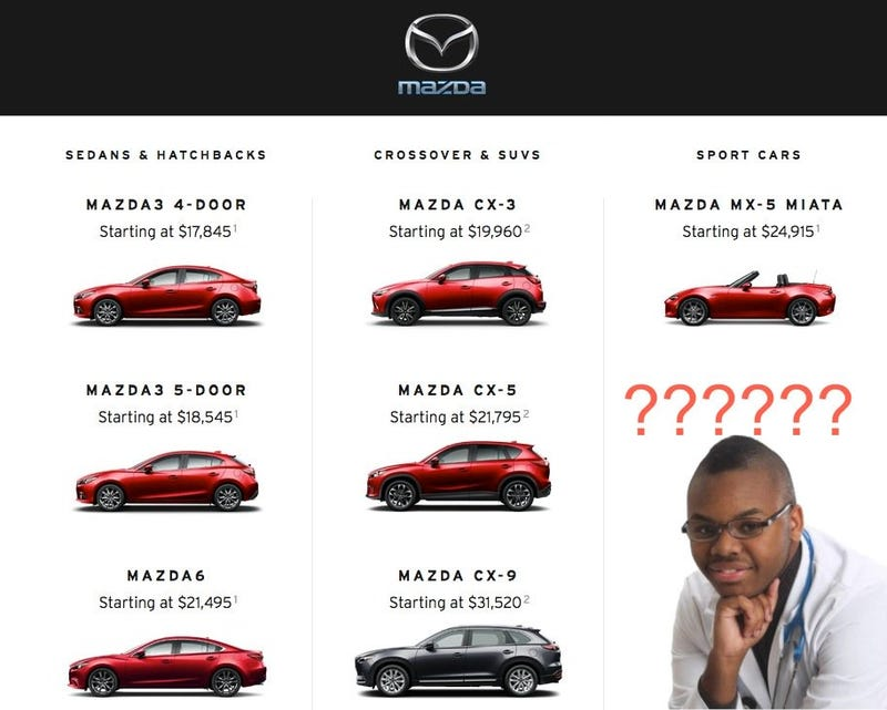 Illustration for article titled What Car Should I Get?  - Young Conman Edition.