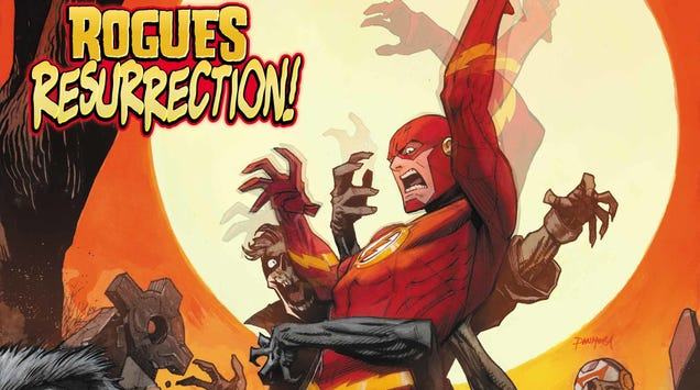 The Flashis trapped in a mental hell maze in this exclusive preview