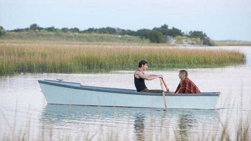 Illustration for article titled The Choice is the same damn Nicholas Sparks movie we get every year