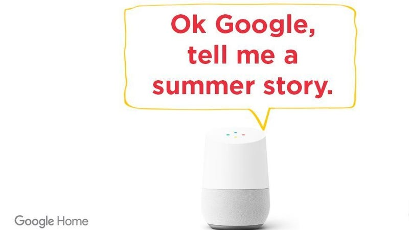 how your kids can use google home