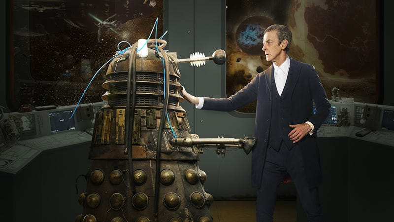 Illustration for article titled Peter Capaldi Says The Doctor Knows He Made The Daleks Worse