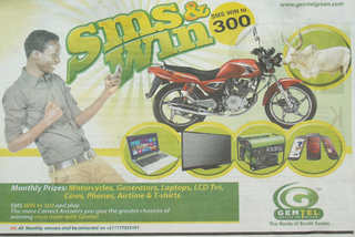 Illustration for article titled Dél-Szudánban tehenet is nyerhetsz a mobilszolgáltatóddal
