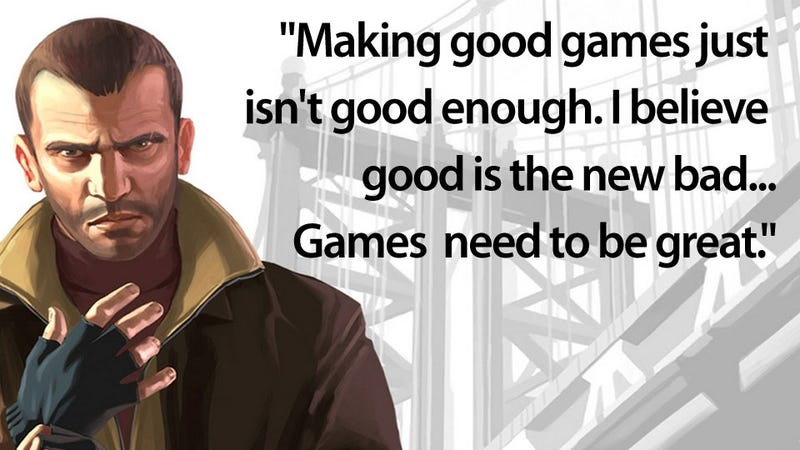 Illustration for article titled Not Every Game Has To Be Great. Good Games Are Just Fine.