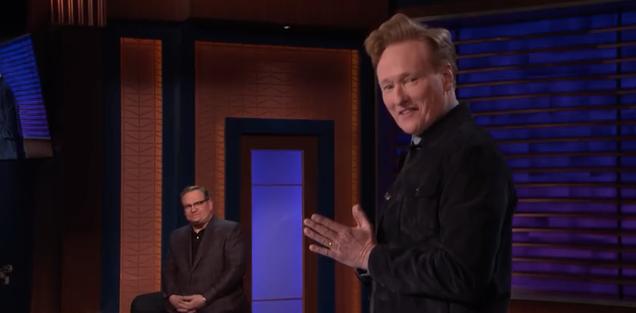 Conan returns a half-hour shorter, twice as energized