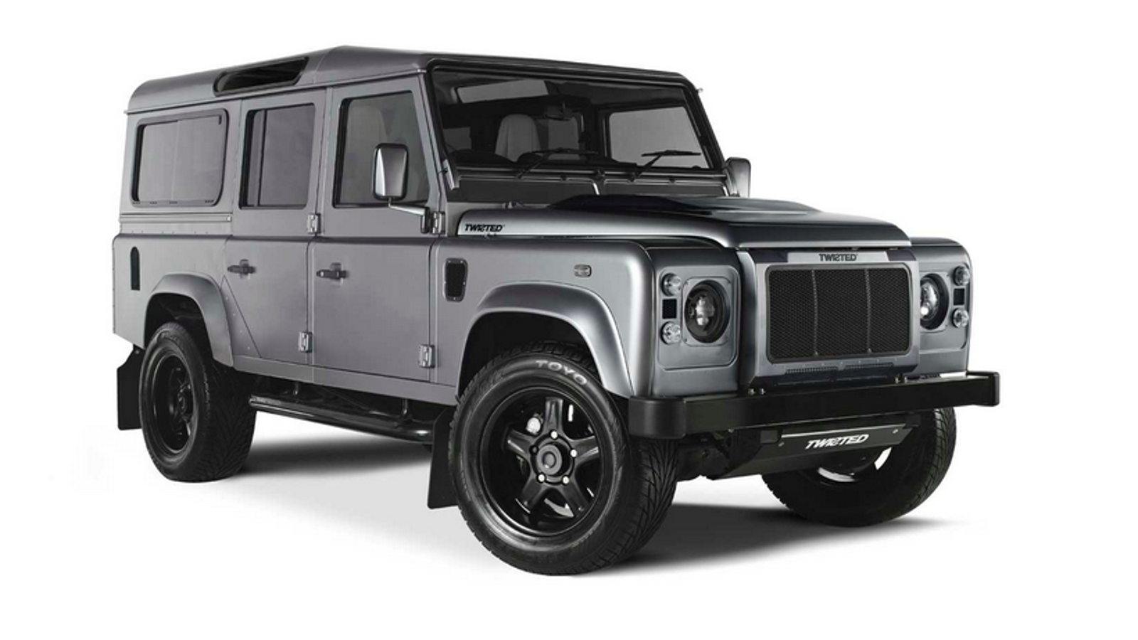 these guys build land rover defenders with corvette engines. Black Bedroom Furniture Sets. Home Design Ideas