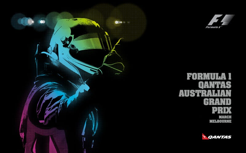 Illustration for article titled I'll leave this F1 Wallpaper here