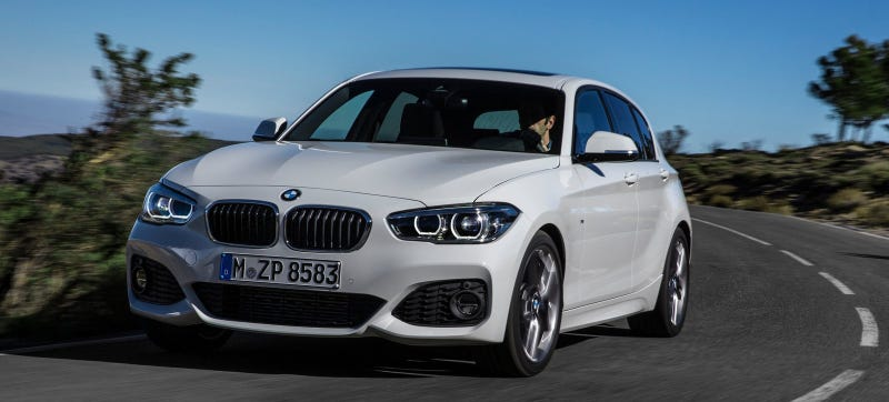 Illustration for article titled 2015 BMW 1-Series: Not Quite As Eye-Searingly Ugly As It Used To Be