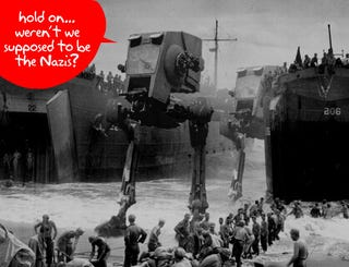Illustration for article titled Star Wars Makes World War II Even More Scary