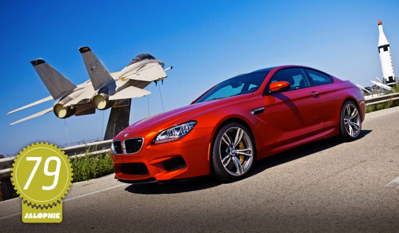 Illustration for article titled 2013 BMW M6 Coupe: The Jalopnik Review