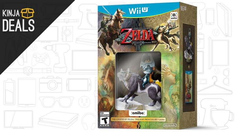 Illustration for article titled The Twilight Princess HD Amiibo Bundle is Back in Stock, With a $12 Prime Discount