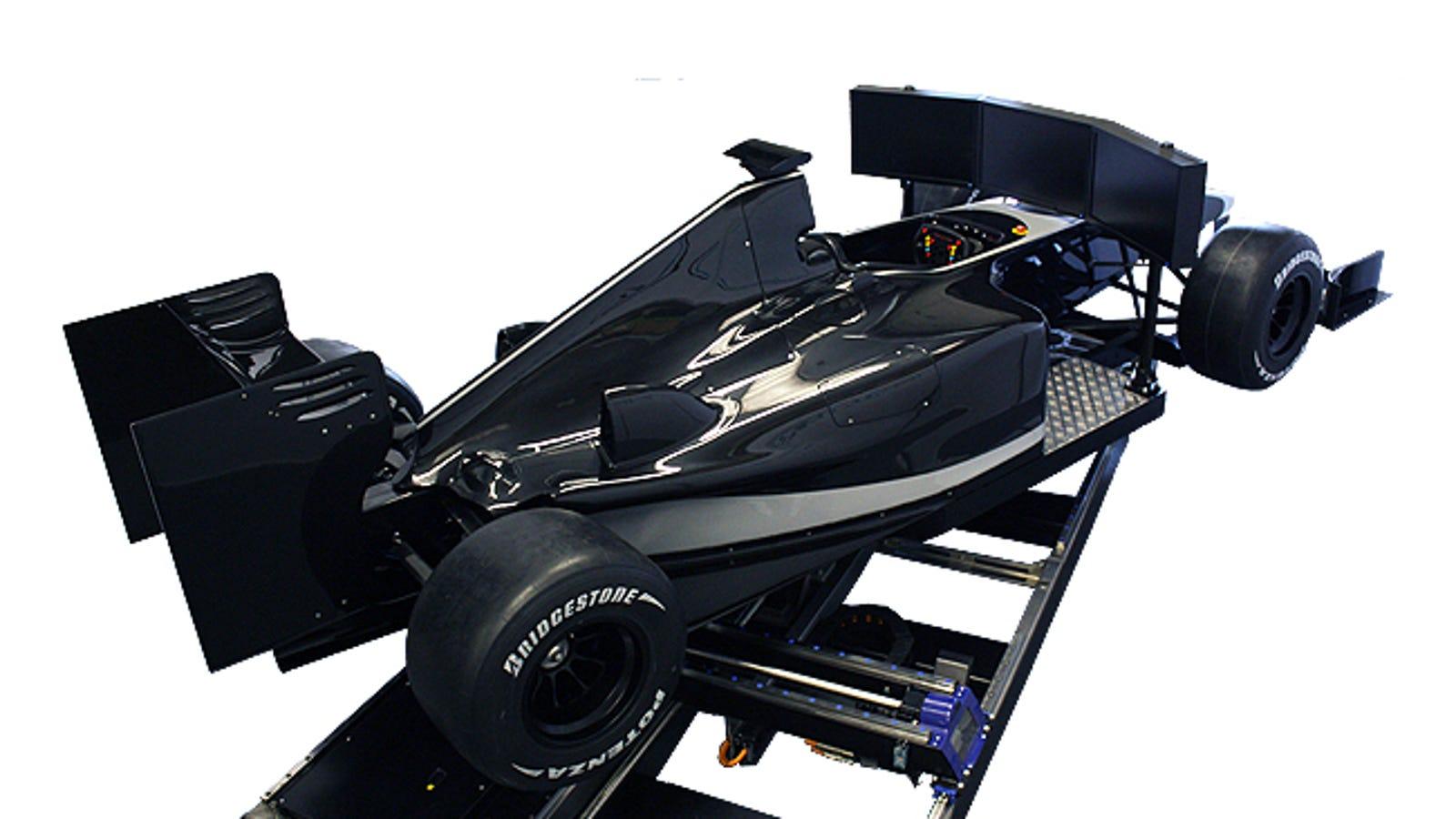This Full Scale F1 Simulator Is Insane