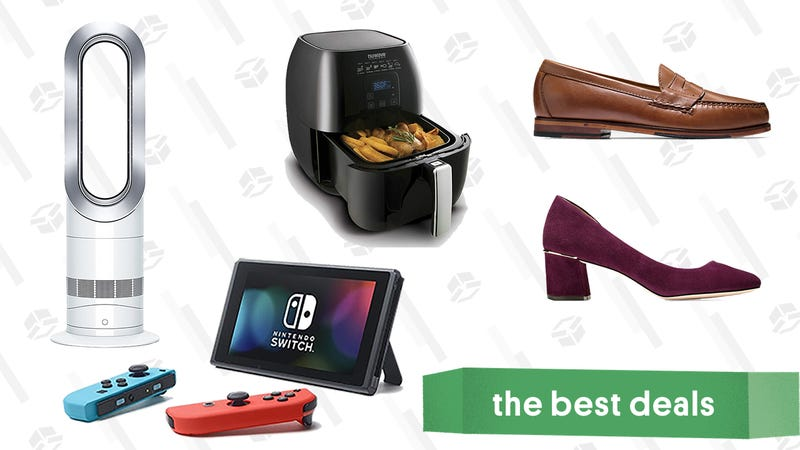 Illustration for article titled Monday's Best Deals: Nintendo Switch, Air Fryers, Apple Watch, and Bath Sheets