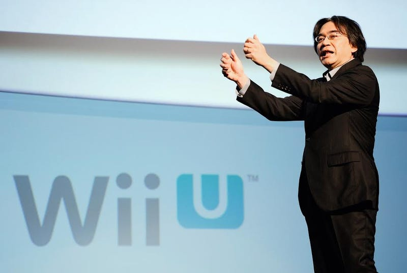 Illustration for article titled Nintendo Boss Is Taking a Huge Pay Cut (Because of the Wii U)