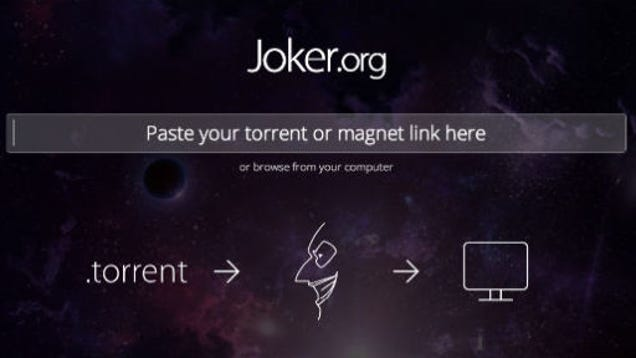 Joker una web para ver torrents online con solo pegar su for Ver torrente online