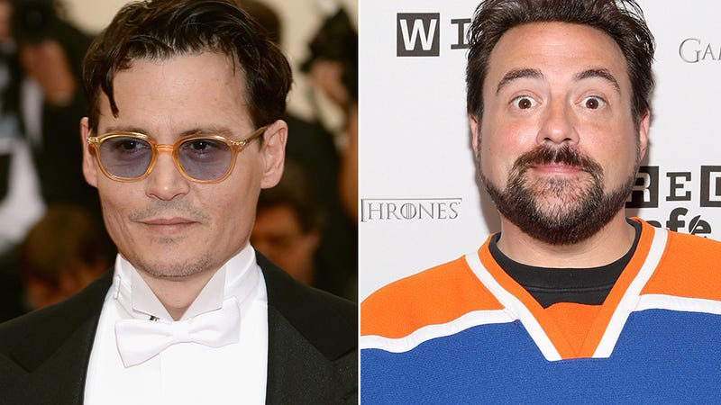 Illustration for article titled Johnny Depp and Kevin Smith Put Their Daughters in a Movie Together