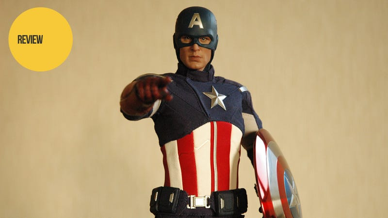 Illustration for article titled I Can't Stop Gushing Over The Newest Captain America Figure