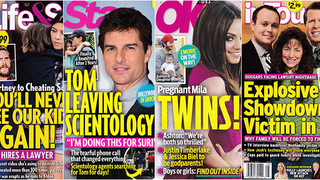 This Week In Tabloids: Tom Cruise Is Leaving Scientology, Xenu Is Mad