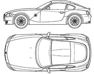 James May Wants You To Colour This Z4 Coupe on bmw z4 hood