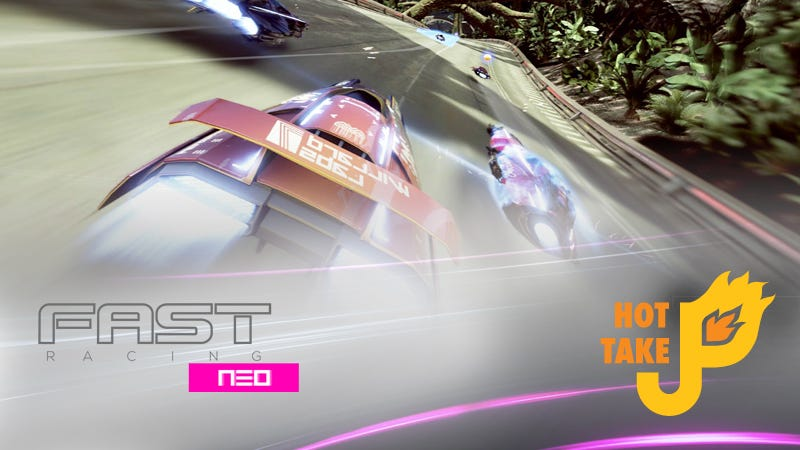 Illustration for article titled Hot Take: Fast Racing Neo (Wii U eShop)
