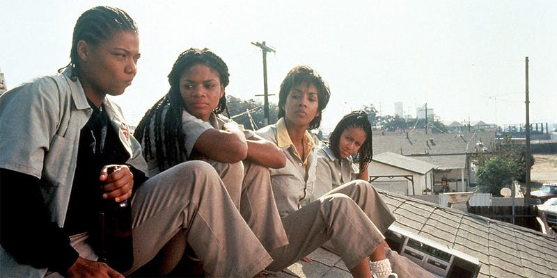 Illustration for article titled Set It Off Has One of the Blackest Scenes in All of Cinema That Nobody Ever Talks About