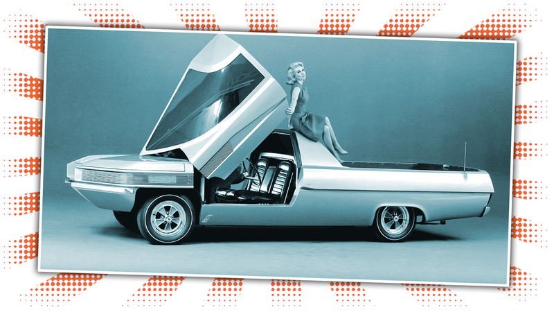 Illustration for article titled Ford Once Built A Supercar Pickup Truck