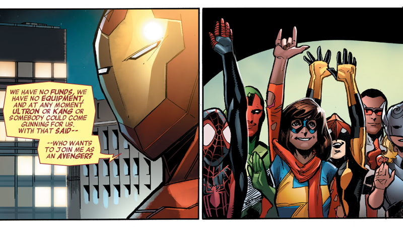 Illustration for article titled What the Hell Is Going On With the Avengers in the Comics?