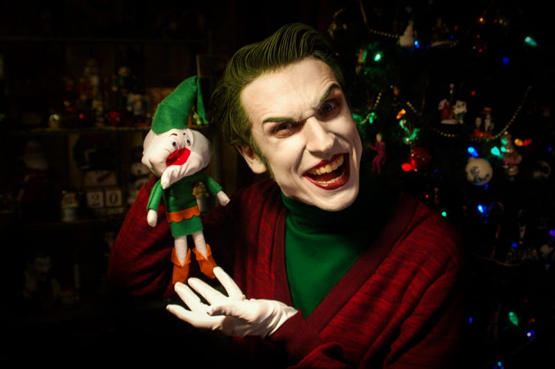 Illustration for article titled The Joker Wishes You All A Very Scary Christmas