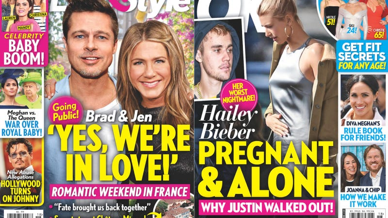 Illustration for article titled This Week In Tabloids: Does Scooter Braun Require Us Weekly to Airbrush Justin Bieber's Paparazzi Photos?