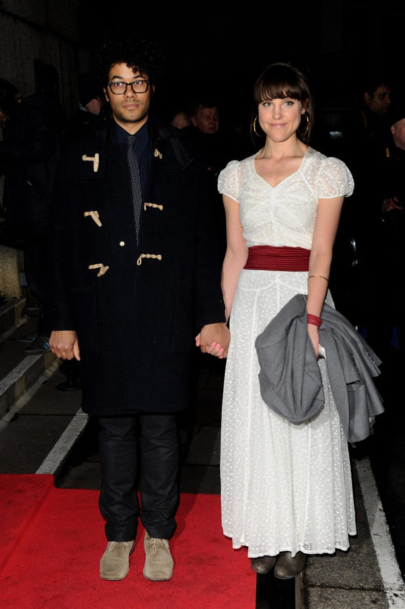 lydia fox richard ayoade wedding