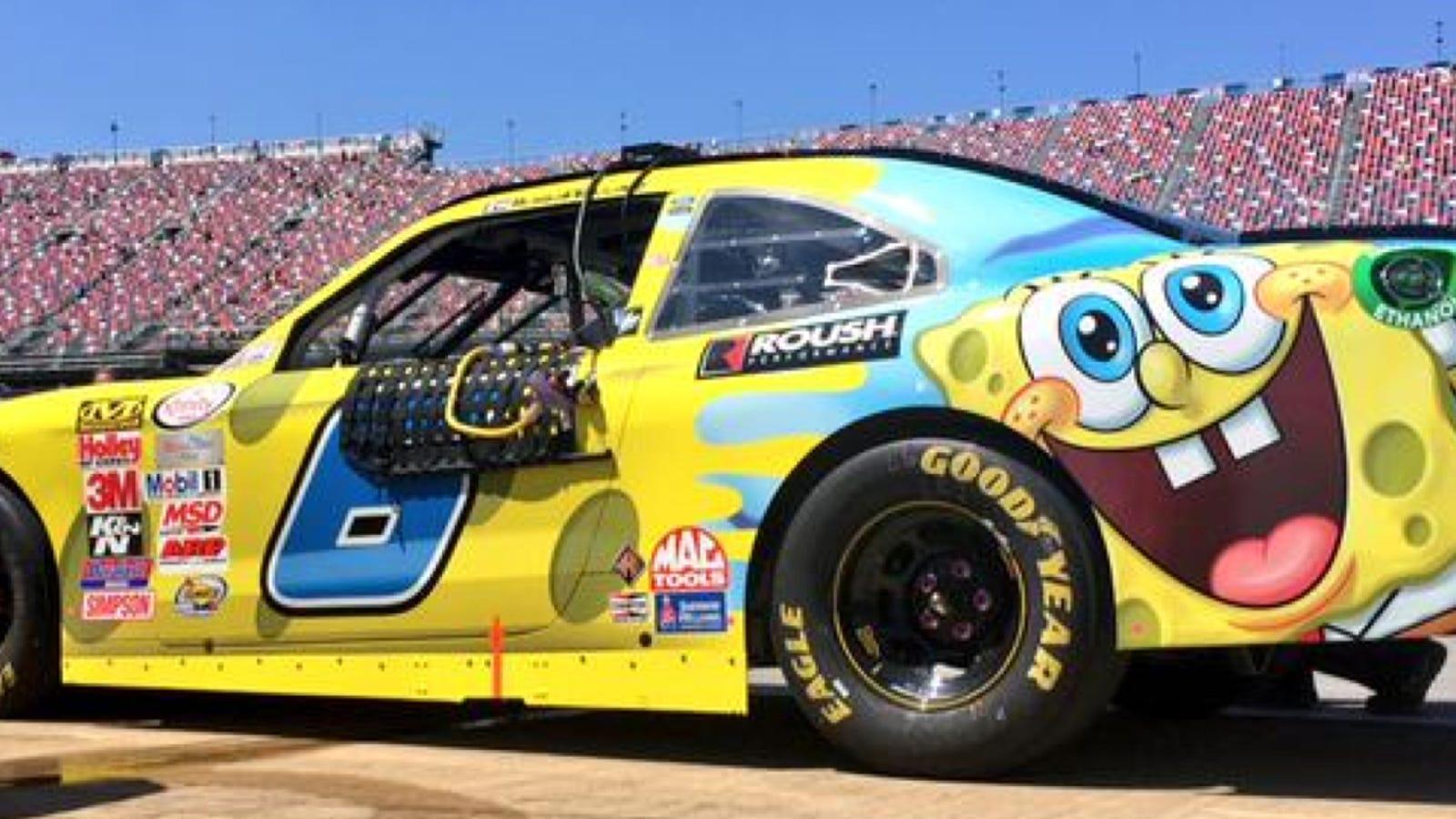 SpongeBob SquarePants On A Race Car: Great Livery, Or