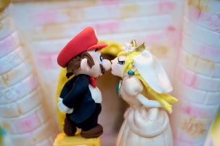 Illustration for article titled Mom Honors Pledge, Plays Mario With Son On Wedding Day