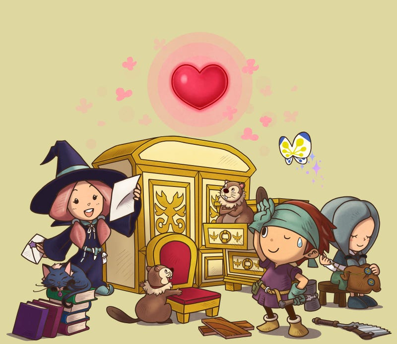 Illustration for article titled The Amazing Music of Fantasy Life