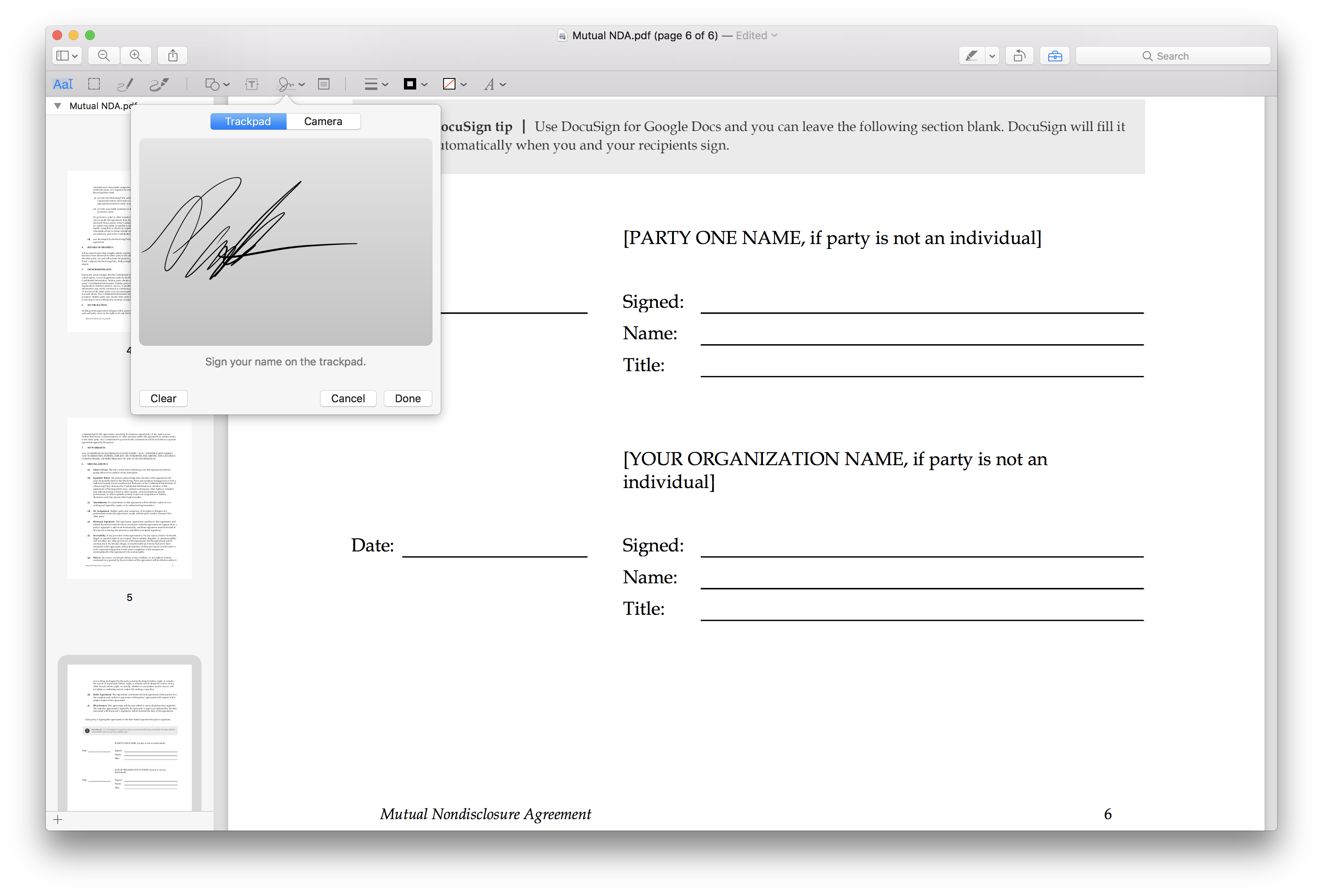 How to Sign Documents on Whatever Device You've Got