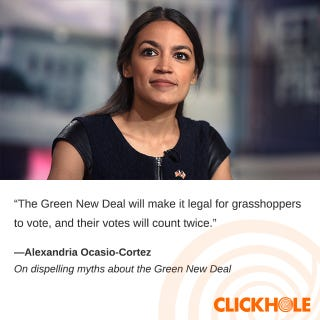 Illustration for article titled Alexandria Ocasio-Cortez Said What?!