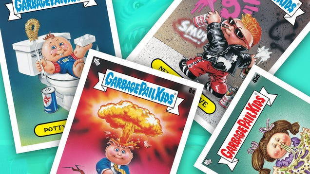 A New Garbage Pail Kids TV Show Is Coming From the Team Behind Halloween