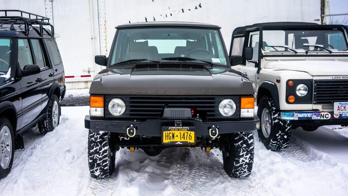 range rover classic custom bumper