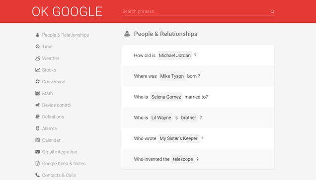 Learn New Google Now Commands With OK Google