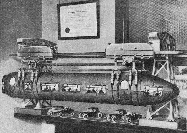 LA s Futuristic Torpedo Cars Were Supposed to Fix The Traffic Problem